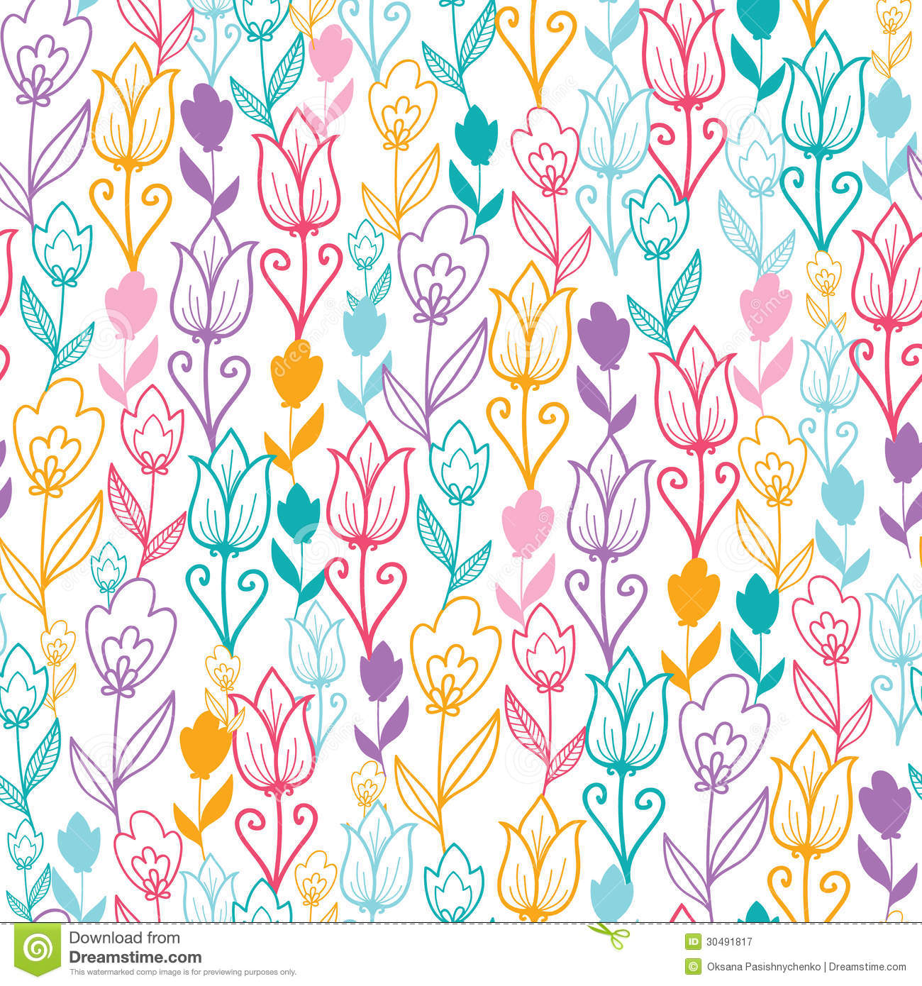 colorful floral background patterns - photo #41