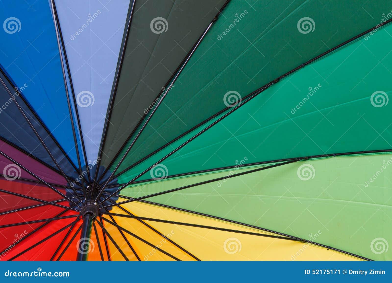 Colorful umbrella stock image. Image of parasol, green - 52175171