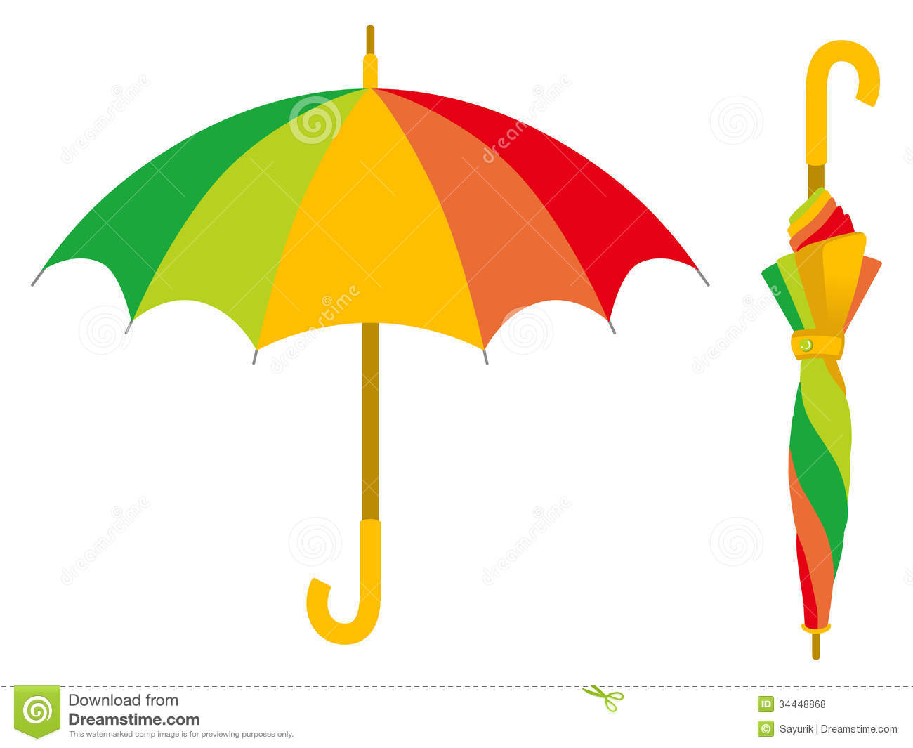 colorful umbrella  open and closed royalty free stock clip art of deer eating crops clipart of beer