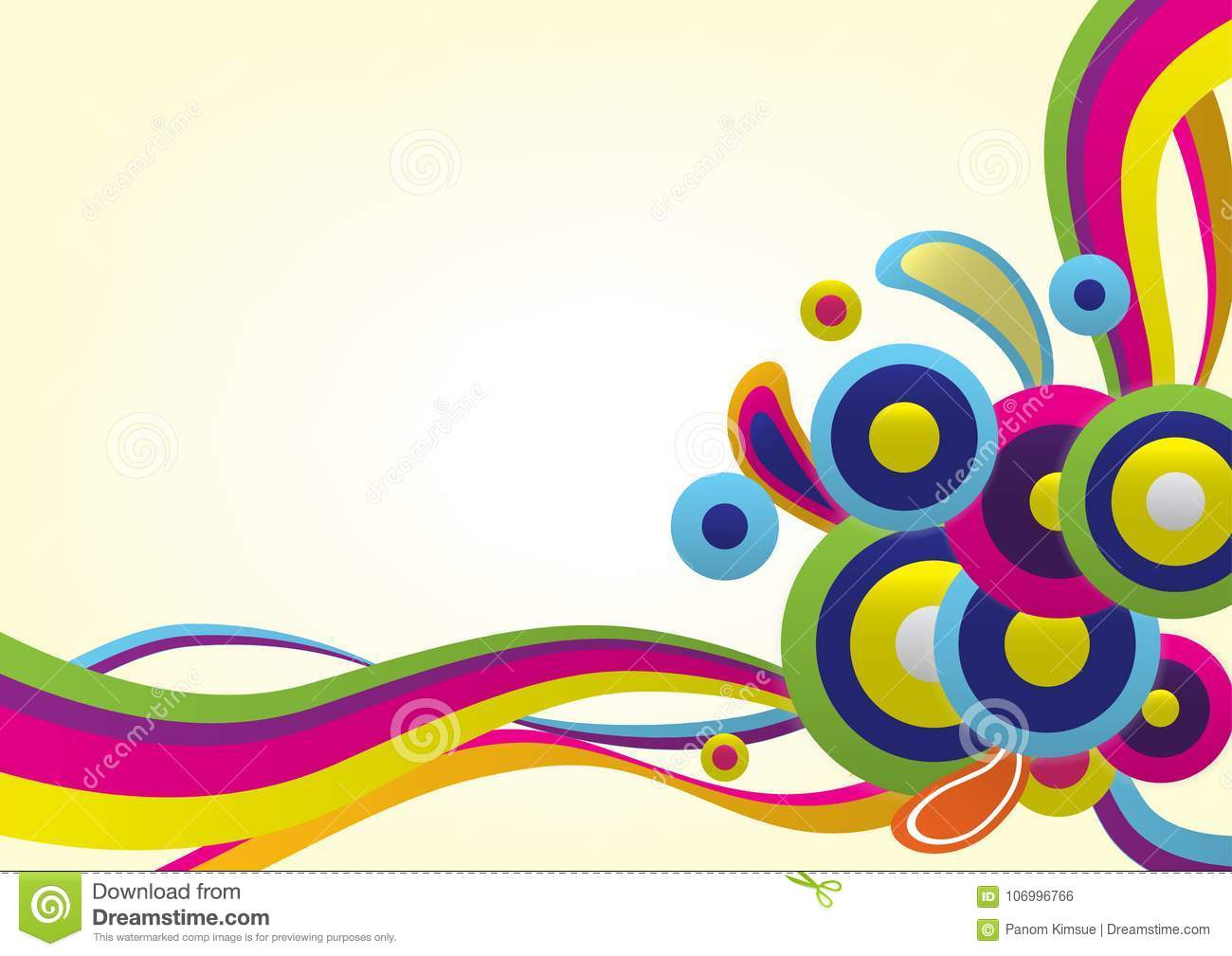Colorful Vector Abstract Background Use For Wallpaper, Background ...