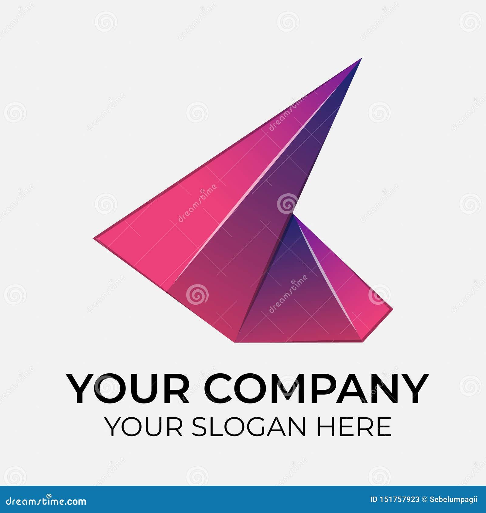 Colorful vector logo design