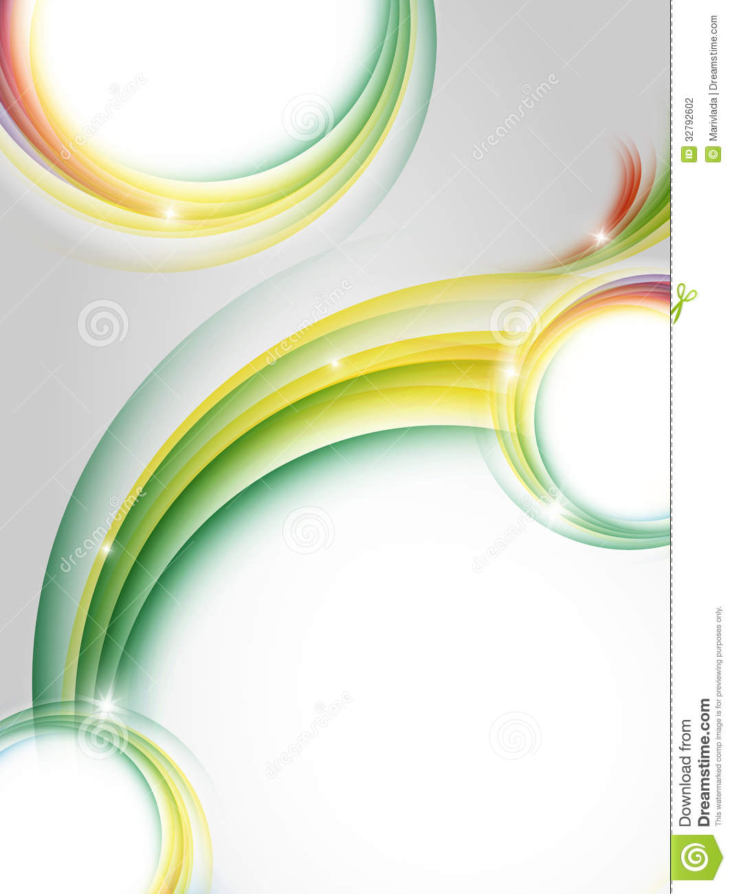 Colorful vector vertical design stock photography image for Copy design