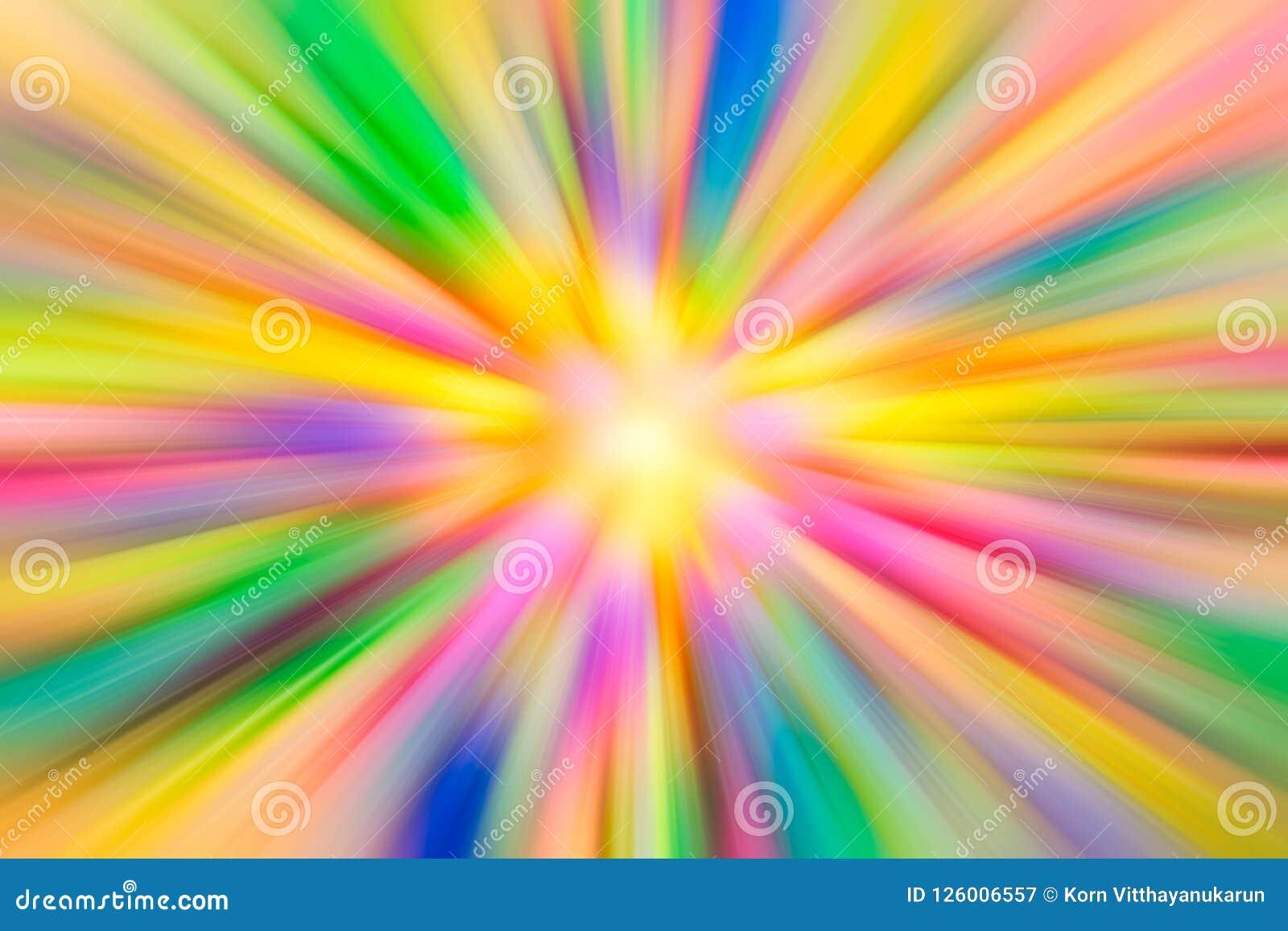 Colorful vivid vibrant colors Acceleration super fast speed motion
