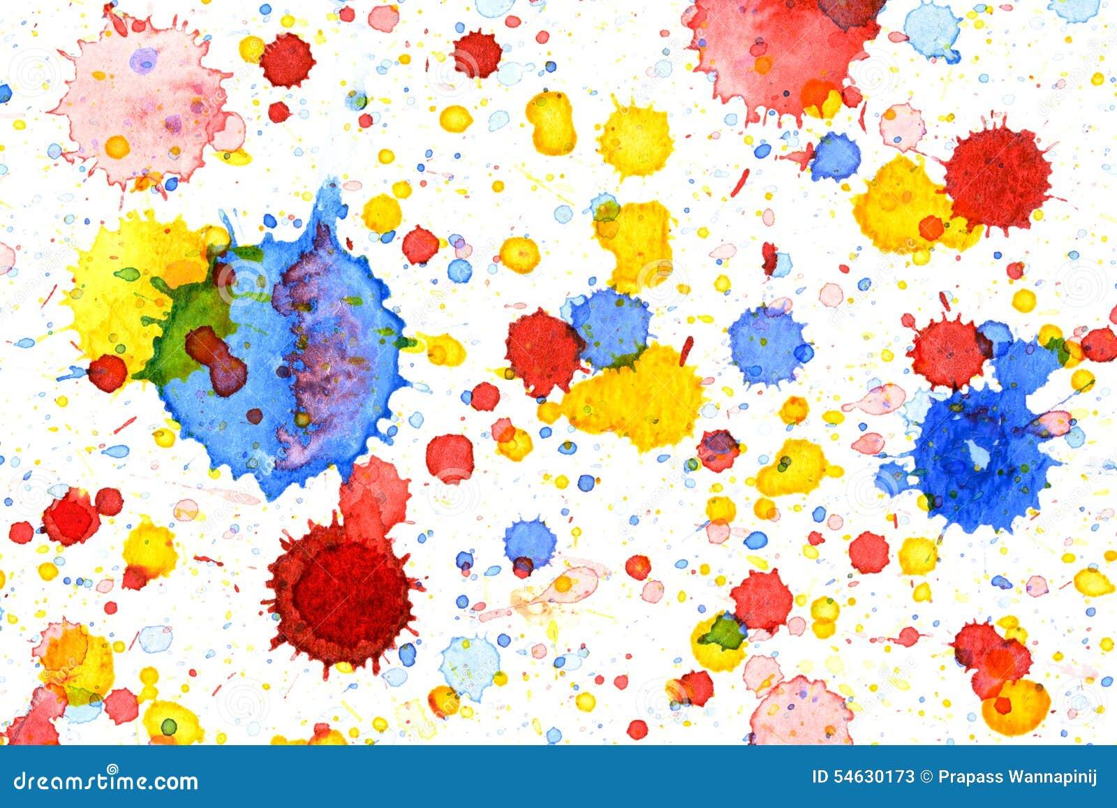 colorful water color splash background illustration 54630173 megapixl