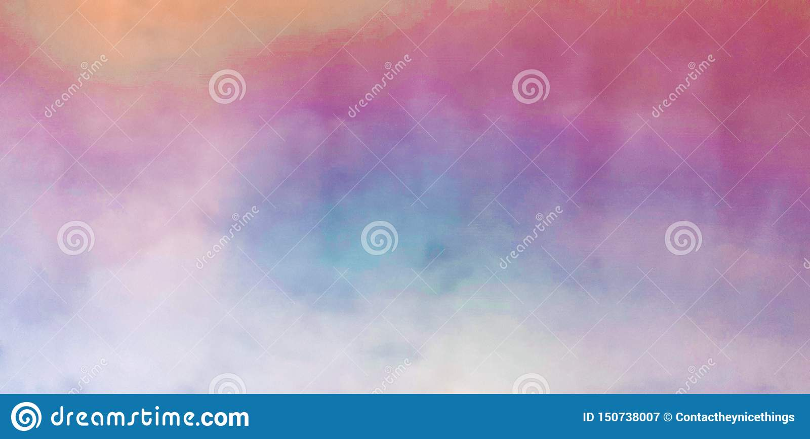 Colorful watercolor blurry colors background