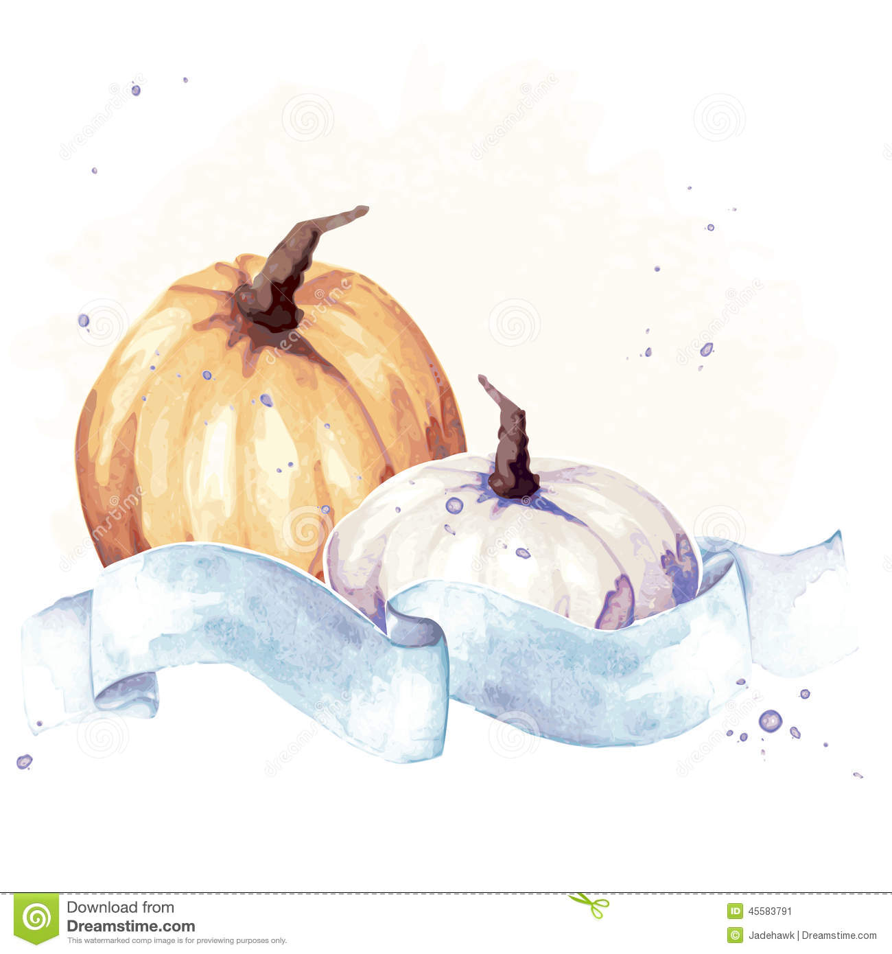colorful watercolor thanksgiving illustration stock vector gourd clipart free gourd clipart free