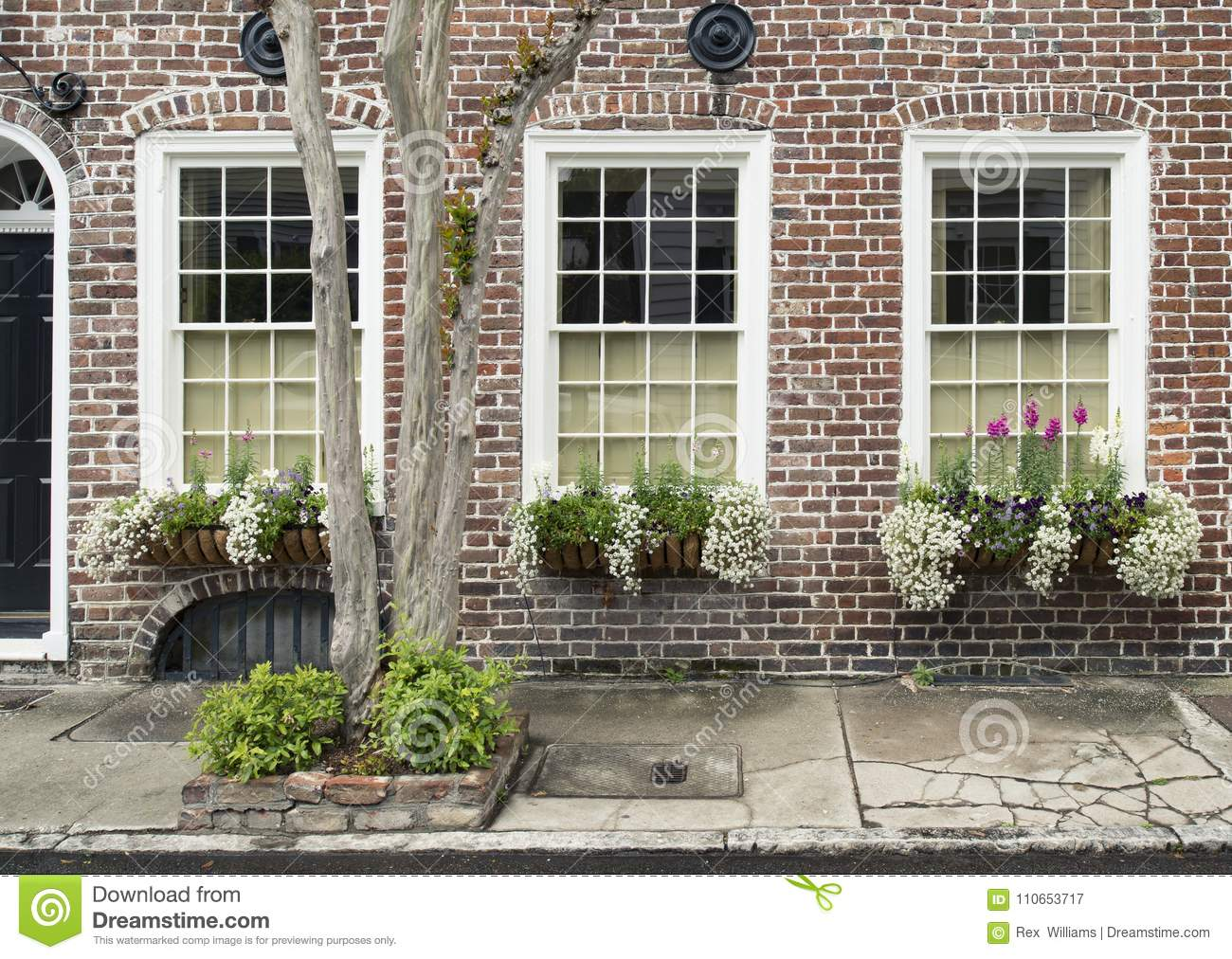 windows and window boxes planters displays adornments enhance architecture