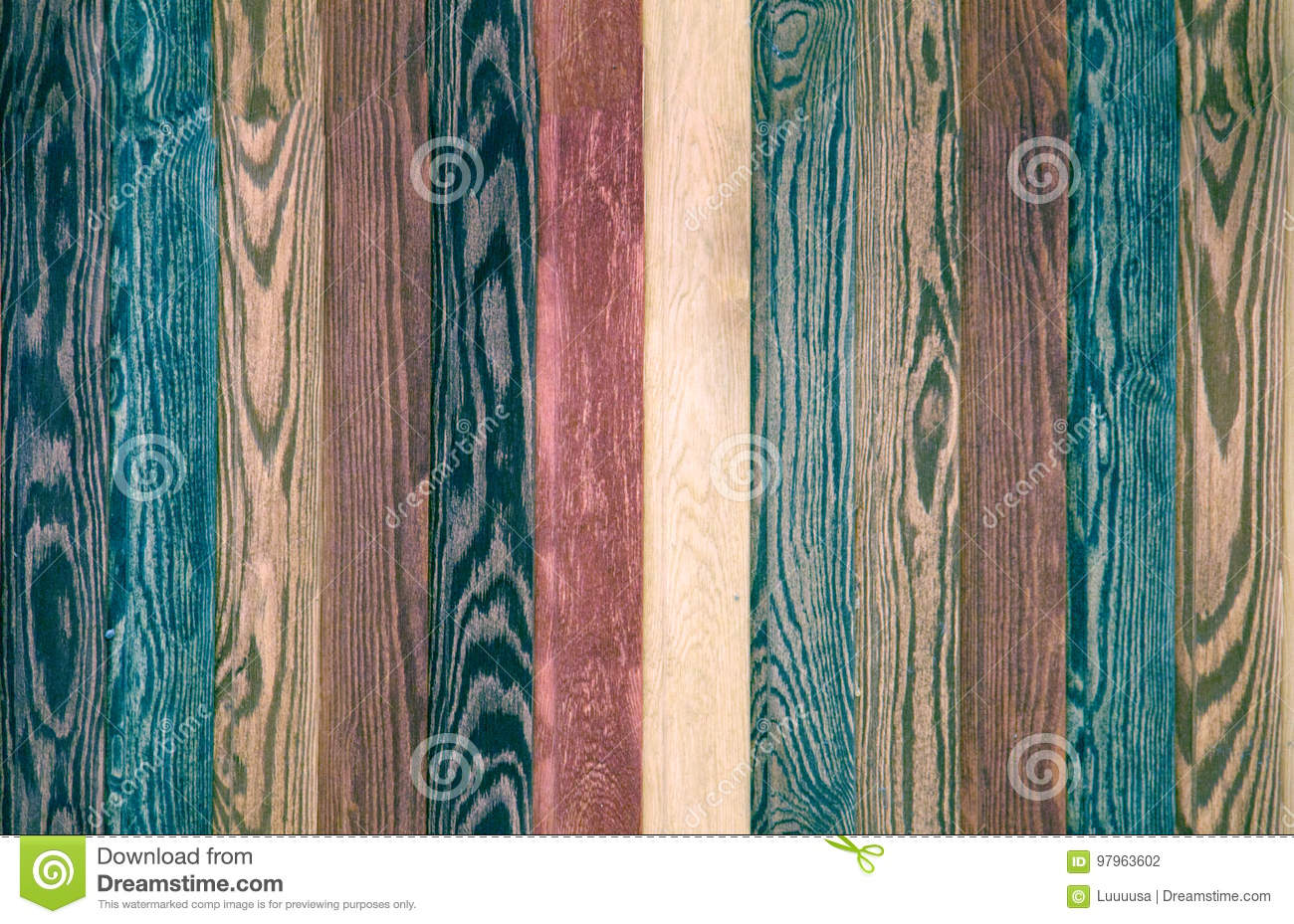 Download Colorful Wood Background Planks Seamless Dark Blue Texture Floor Stock Photo