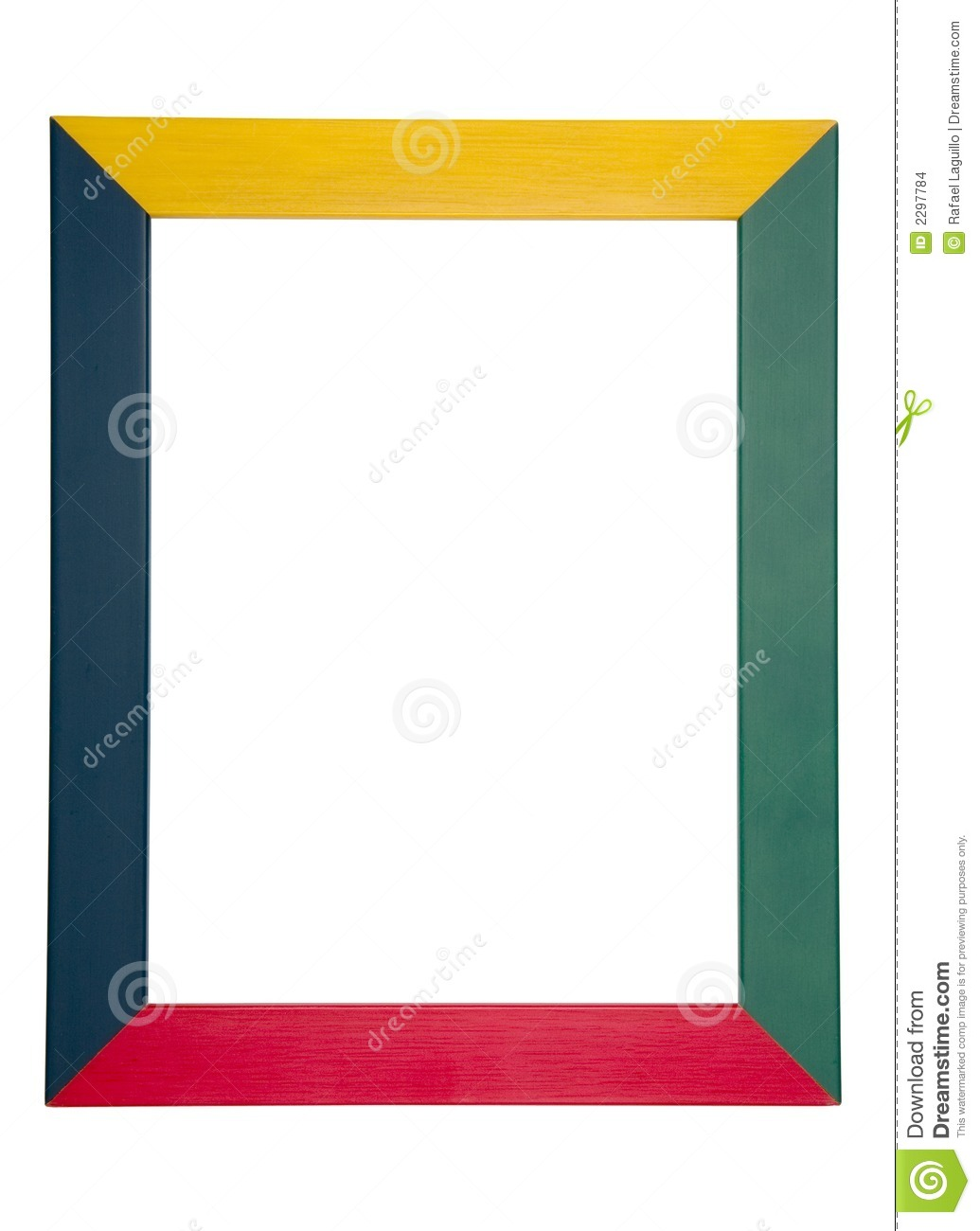 Colorful Wood Frame Stock Images - Image: 2297784