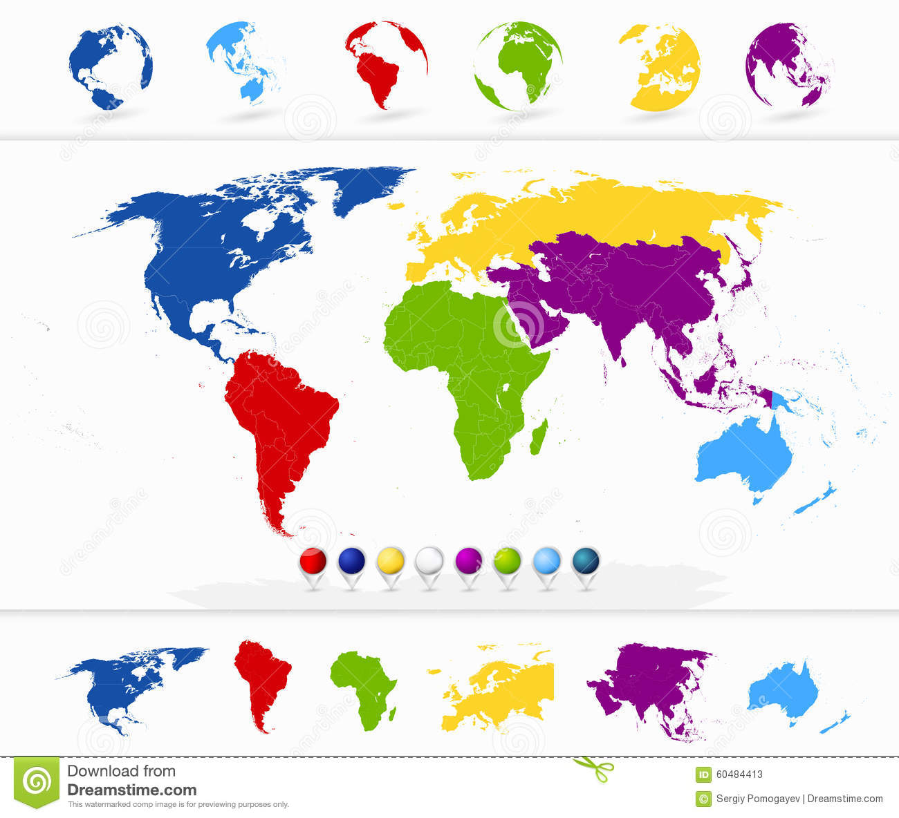 north map symbol with Stock Photo Colorful World Map Continents Globes Detailed Navigation Markers Image60484413 on pass moreover 3762543516 together with 5870355403 besides Detailed Vector Map Of North Central America Asia Pacific Europe South America Middle And East Africa Regions Vector 24653463 besides 12163183.