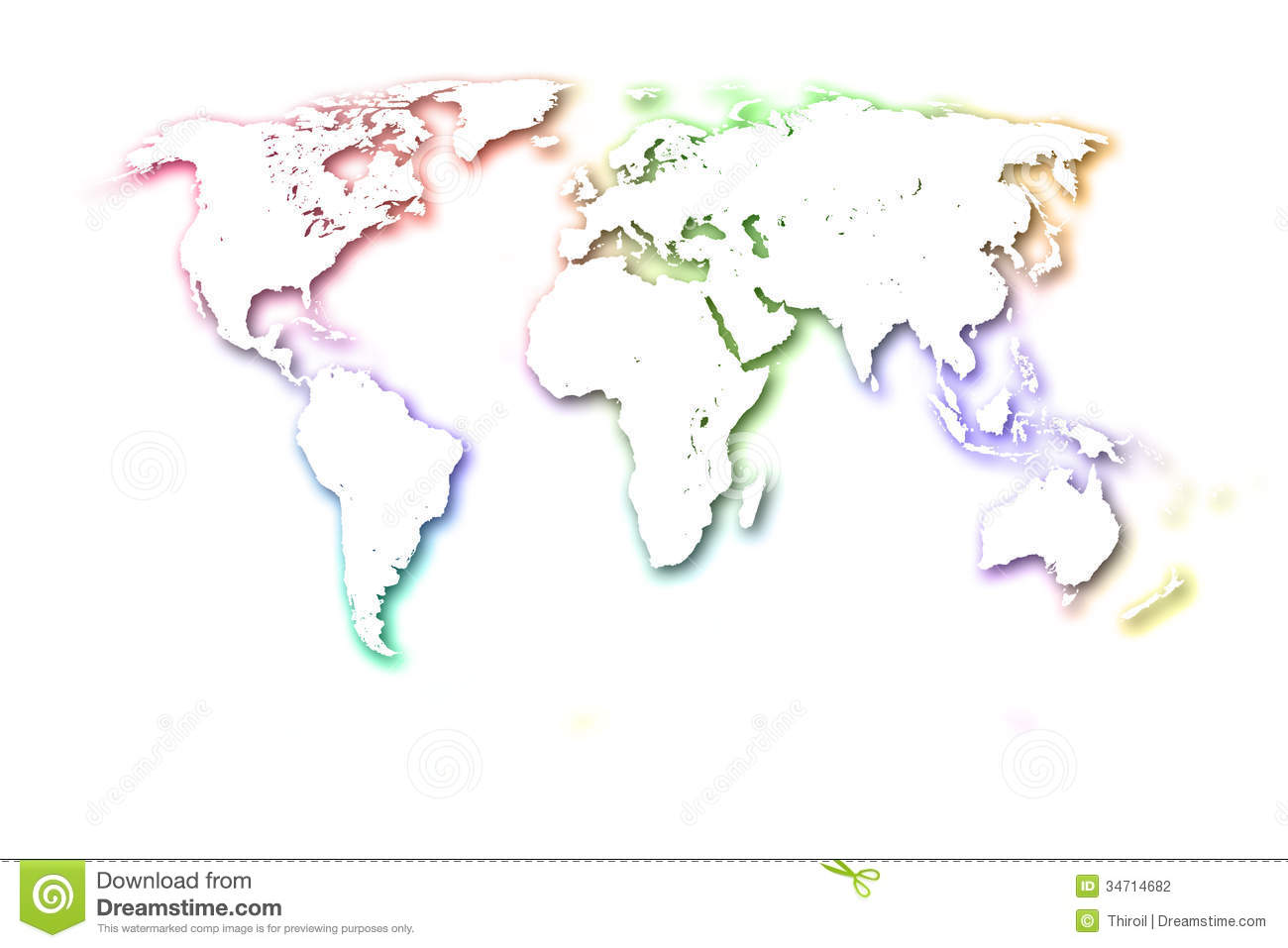 World map white background idealstalist world map white background gumiabroncs Gallery