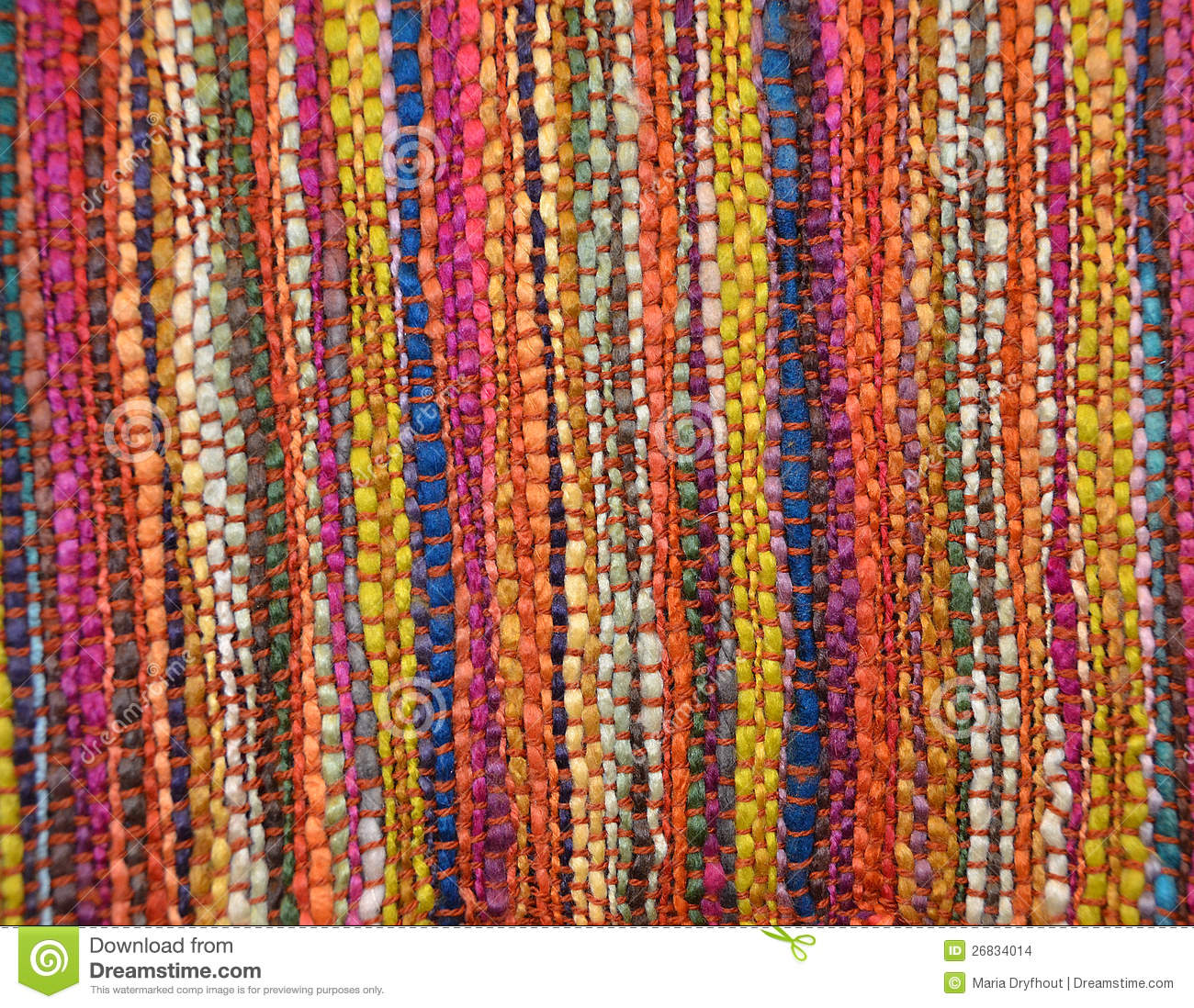 Colorful Woven Rug Stock Photo Image Of Vivid Colorful
