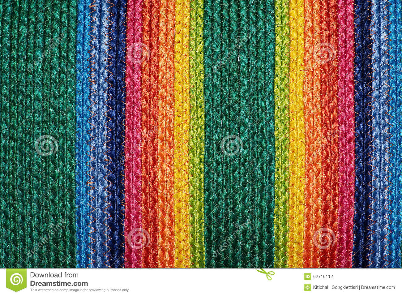 Colorful Woven Sisal Wool Rug Taxtures Amp Background Stock
