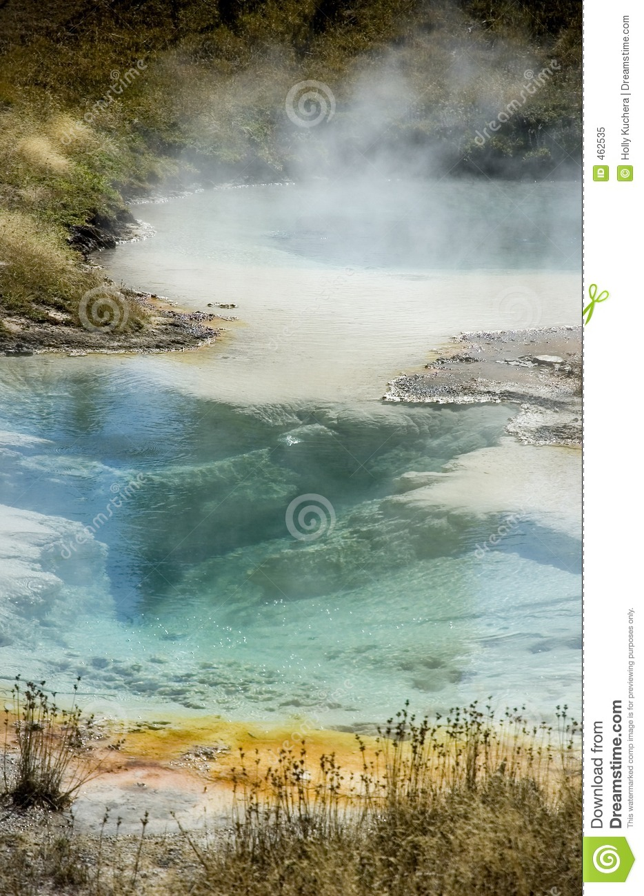 Download Colorful Yellowstone Hot Spring - Vertical Stock Image - Image of liquid, colourful: 462535