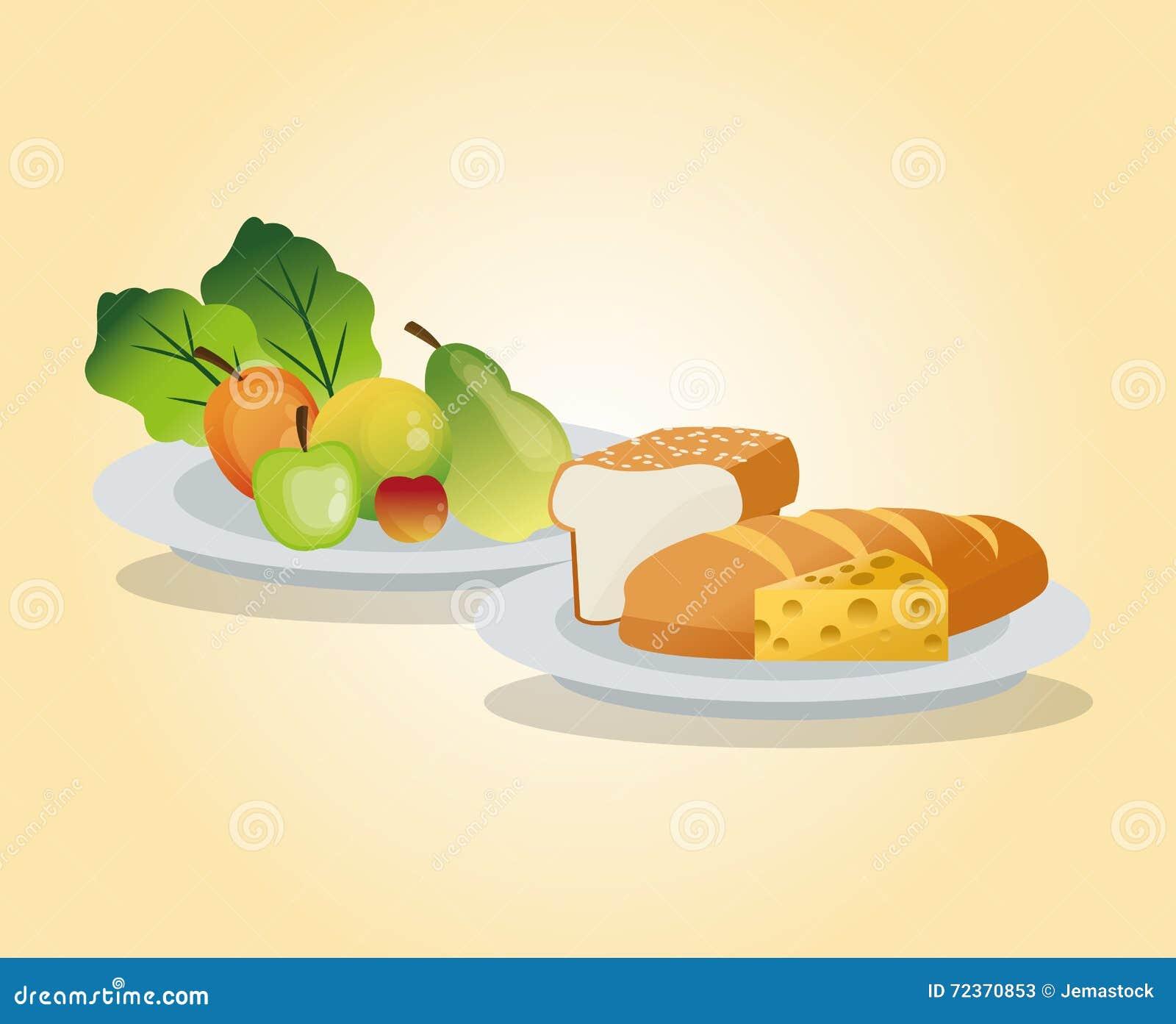 健康食物设计 有机图标 colorfull例证