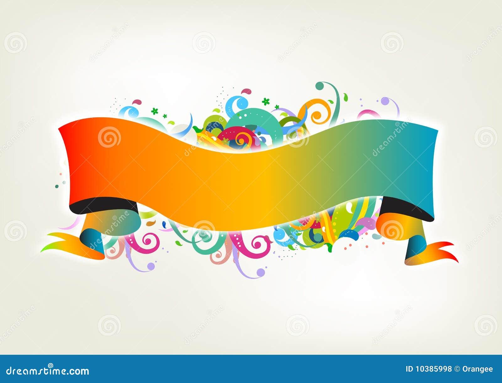 Colorfull banner