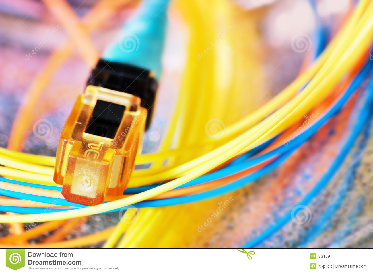 Colorfull cable