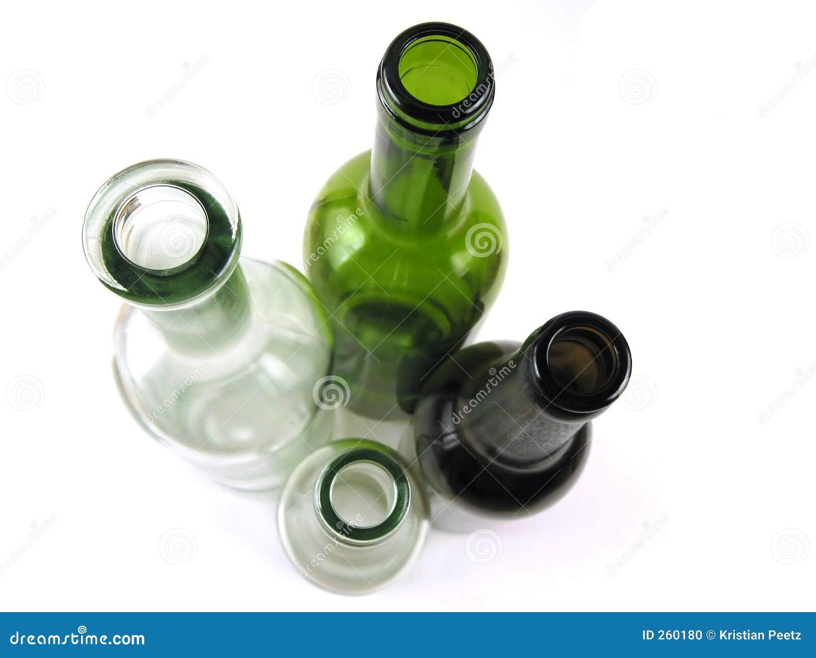 Colorfull Flaschen (Draufsicht)