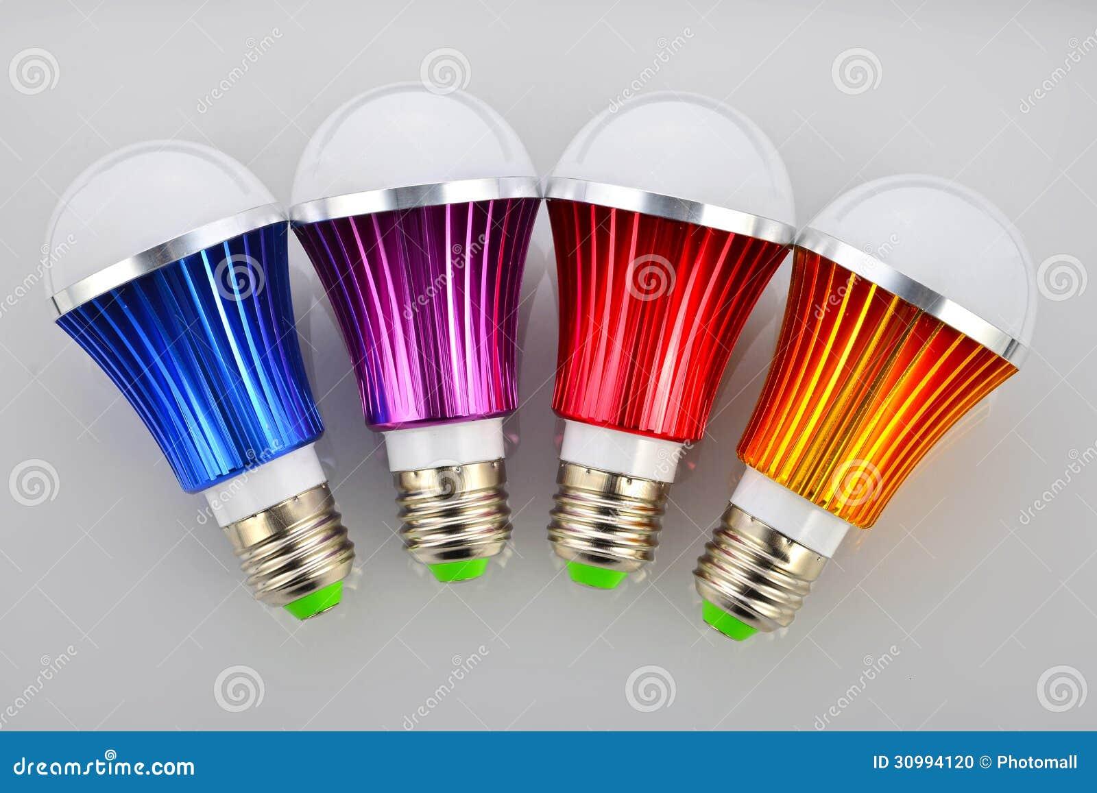 Colori la lampadina del LED