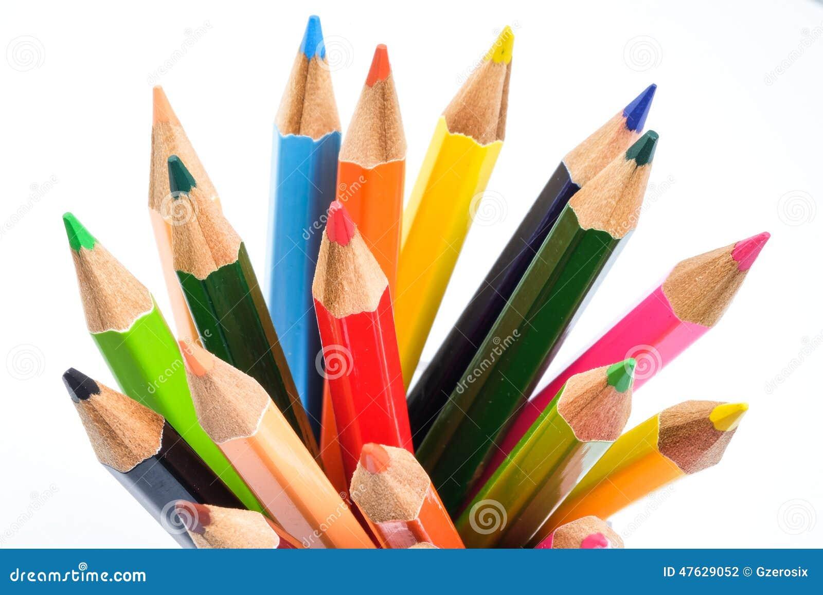 Colori la matita fotografia stock immagine di estratto - Immagine di terra a colori ...