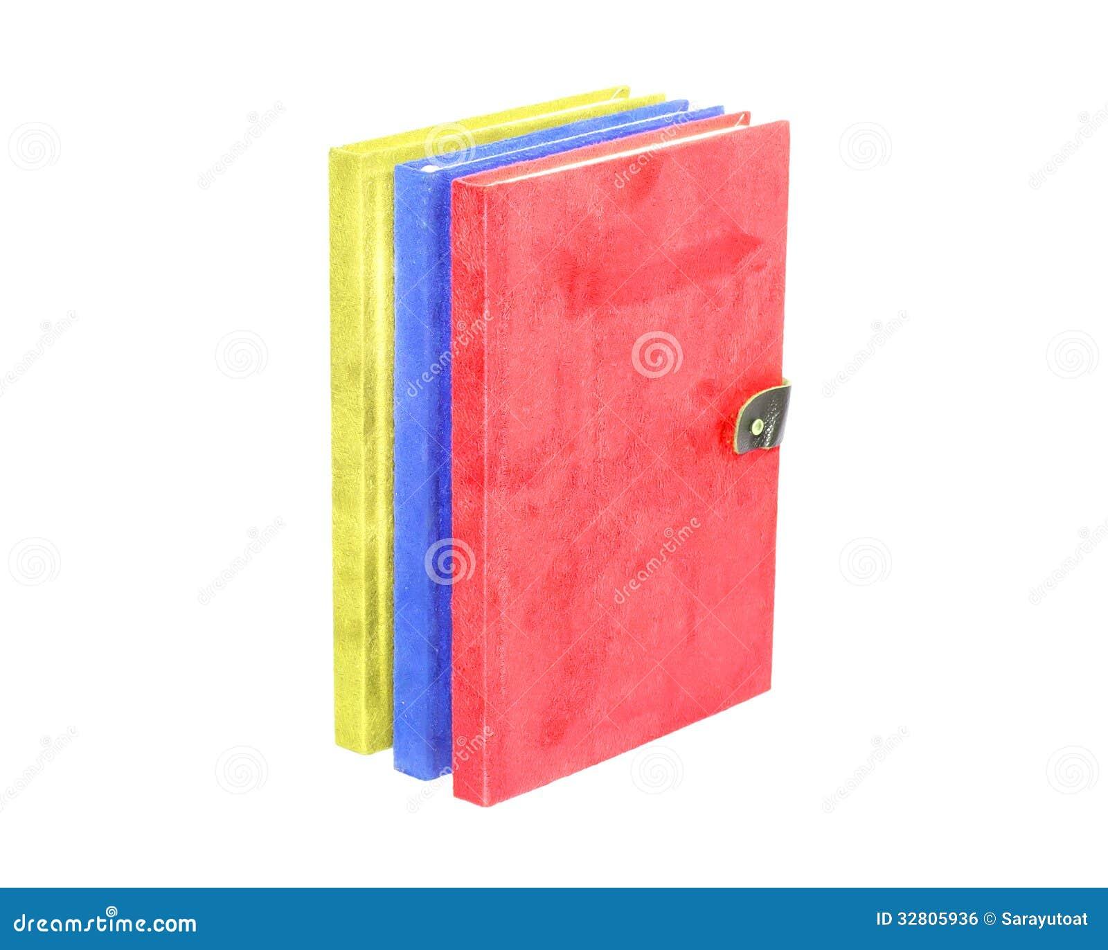 Colorido Con Colores Primarios En El Aislante Del Libro De La ...