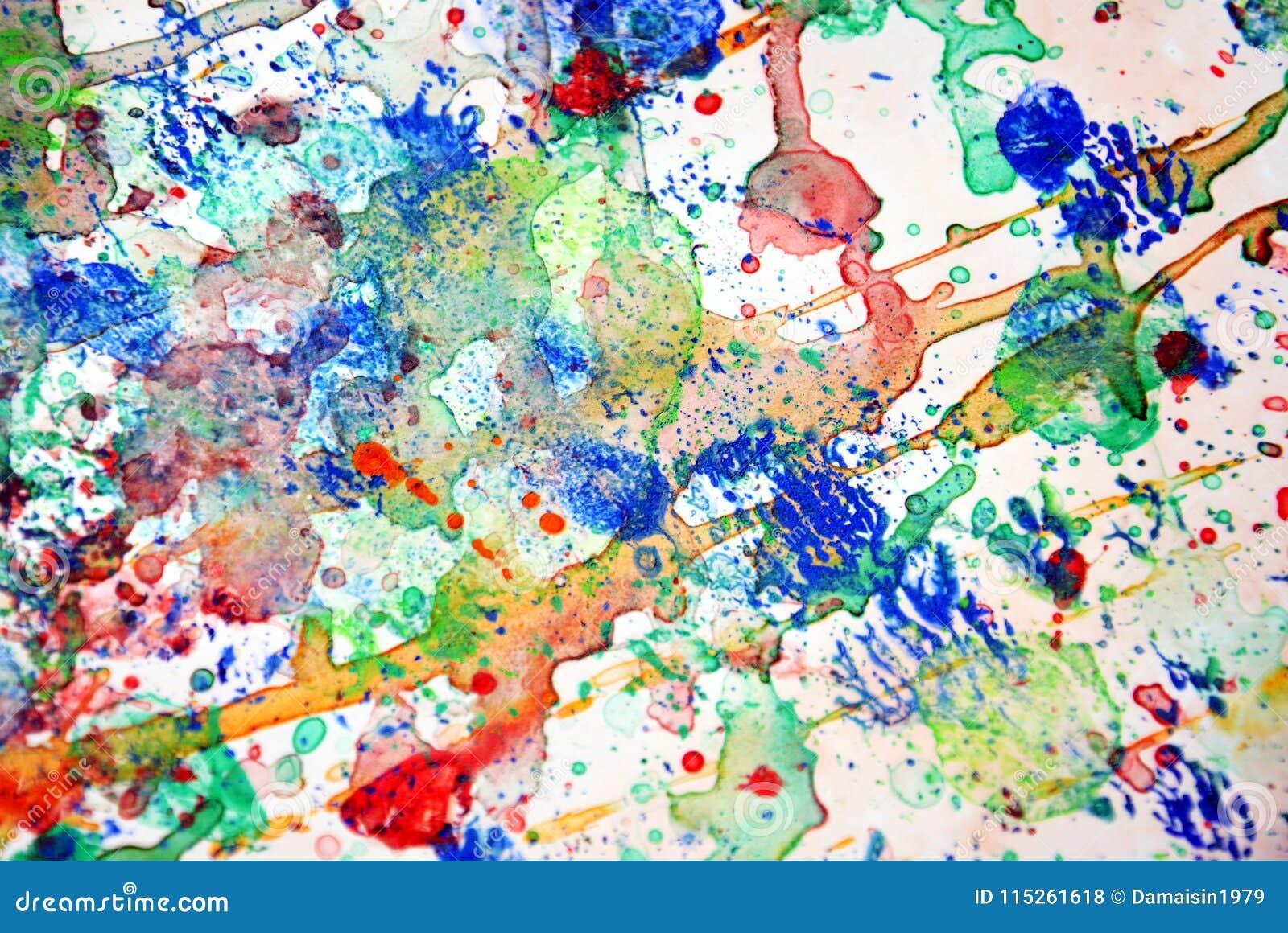 Colorido espirra, fundo pastel vívido colorido, textura colorida do sumário