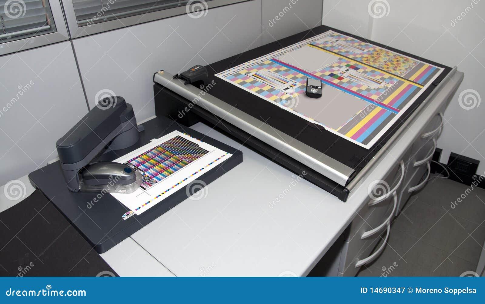 Colorimetry laboratory