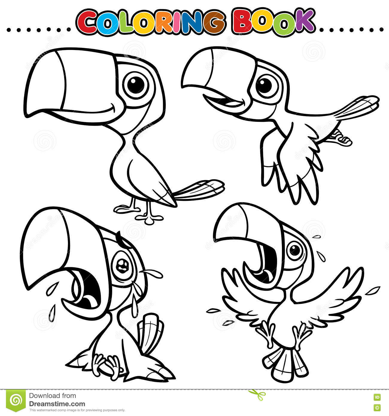 Hornbill Cartoons Illustrations