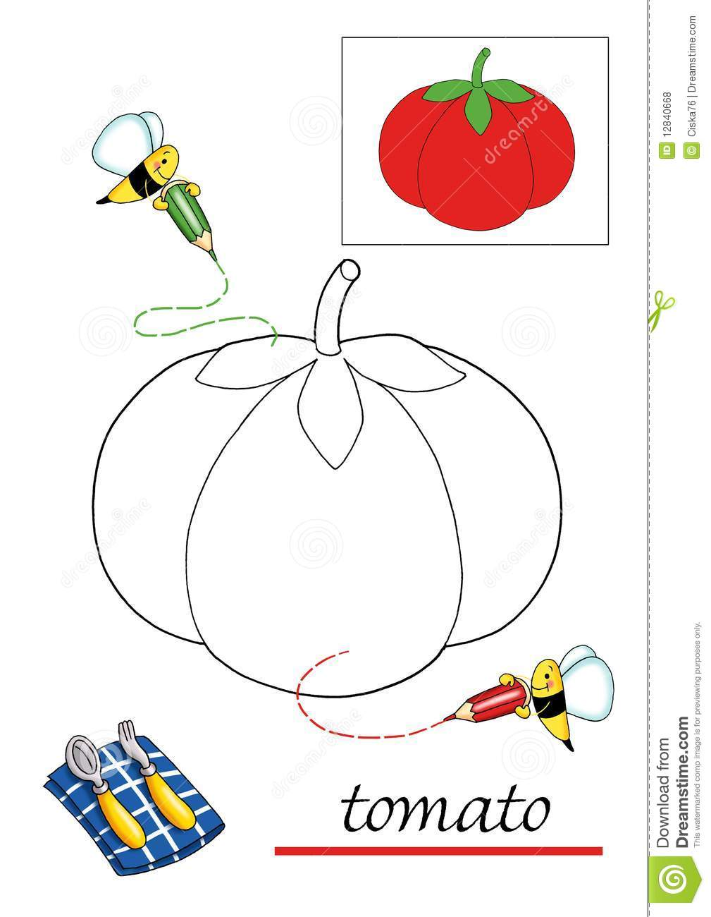 Coloring book for children 4