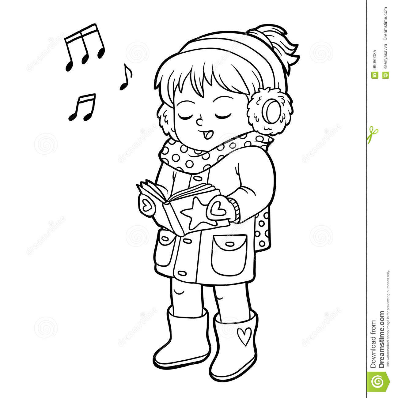 Song Cartoons, Illustrations & Vector Stock Images