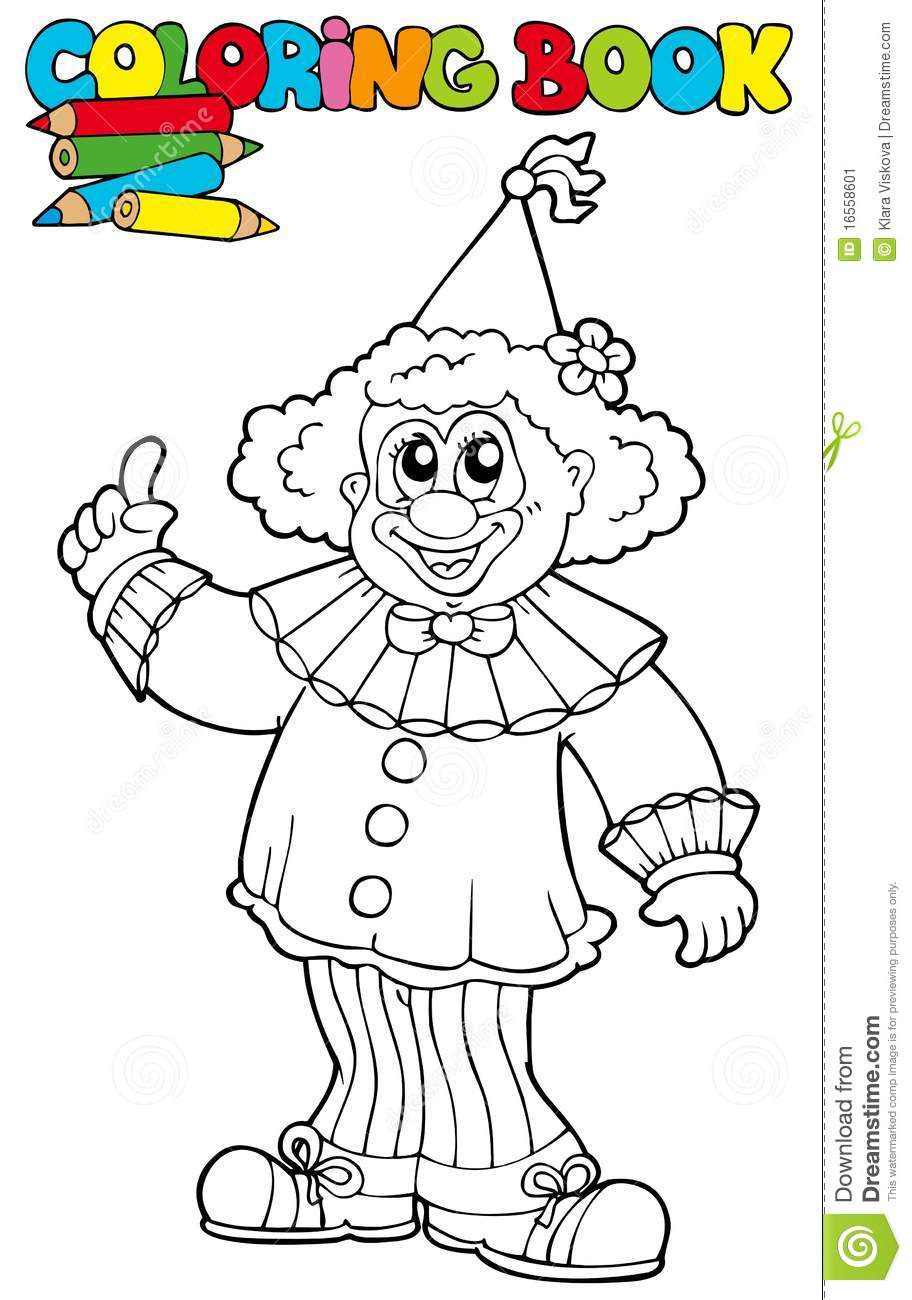 thanksgiving coloring pages funny clowns - photo#3