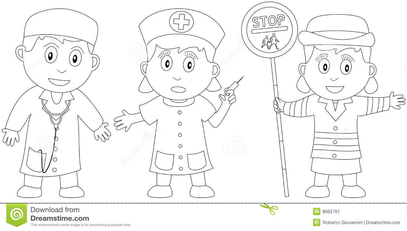 Coloring Book For Kids 19 Stock Vector