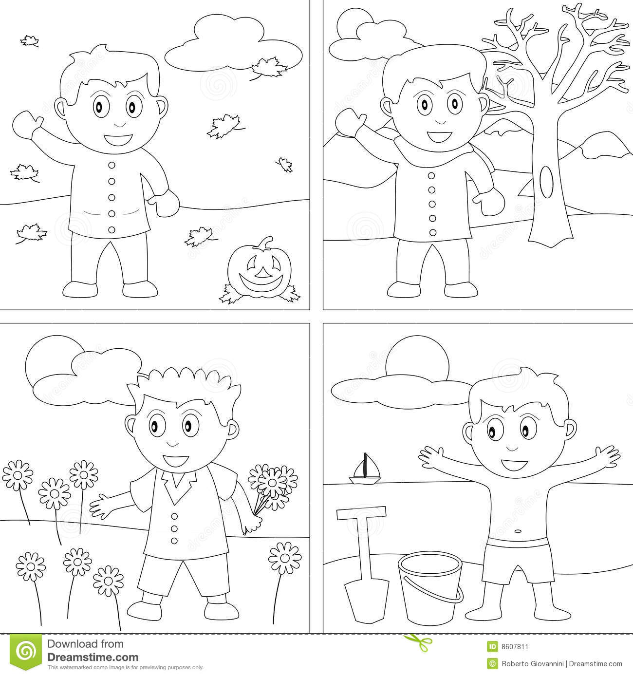 Download Coloring Book For Kids 27 Stock Vector