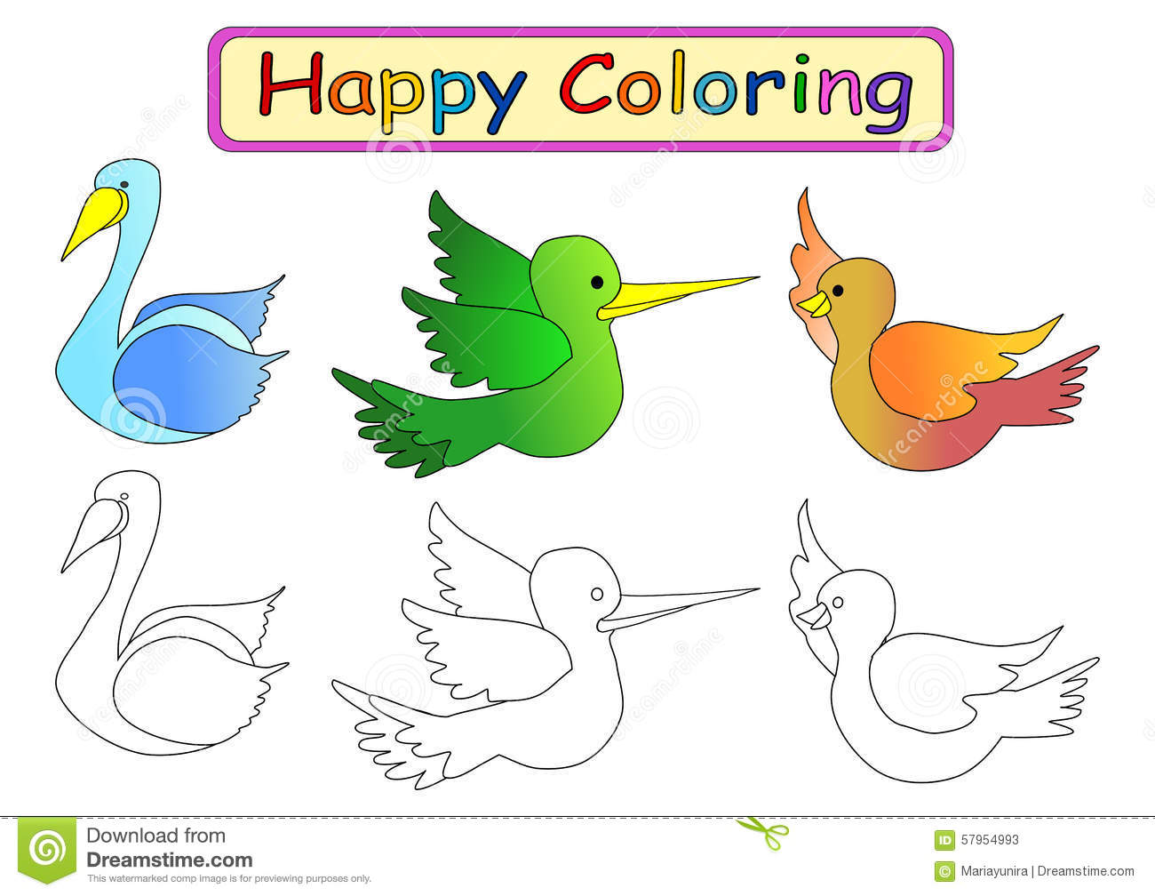 coloring book for kids 2 royalty free stock photos image 4605918