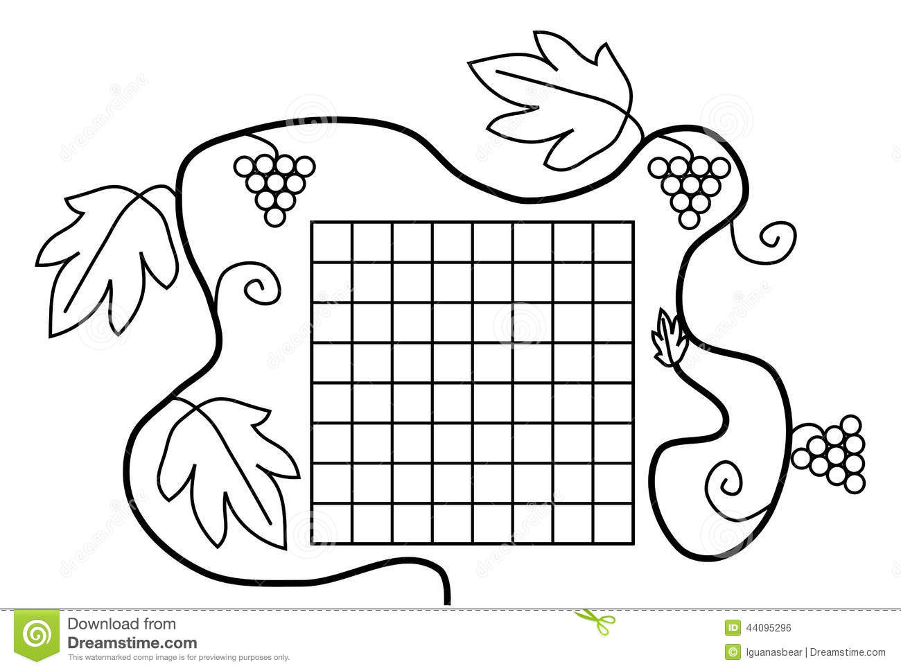 1300 x 968 jpeg 100kB, Coloring book page black white school timetable ...