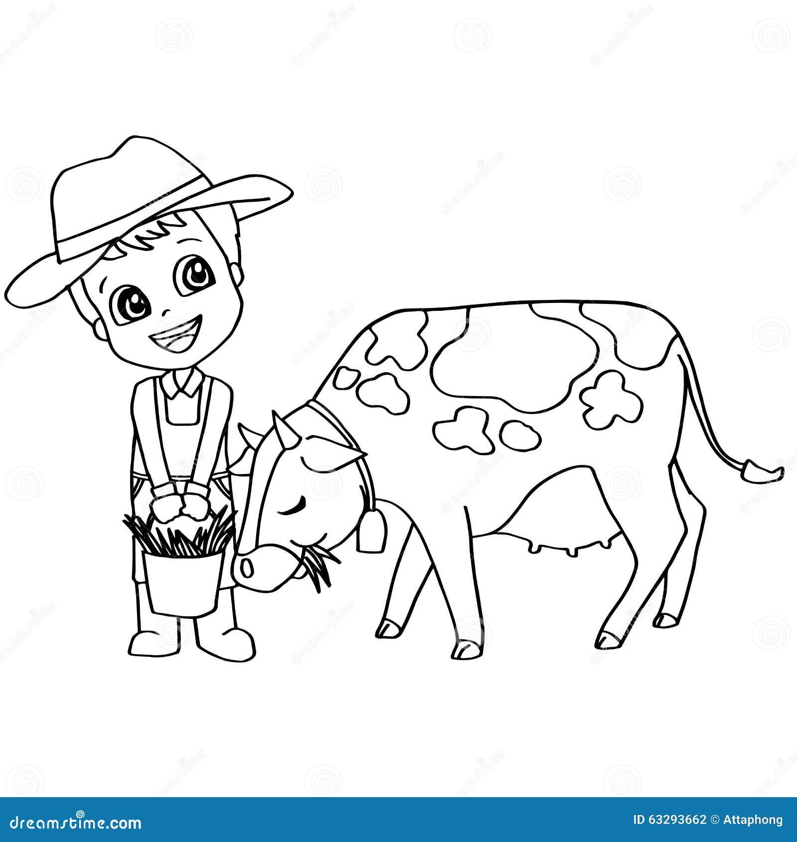 Раскраска онлайн корову