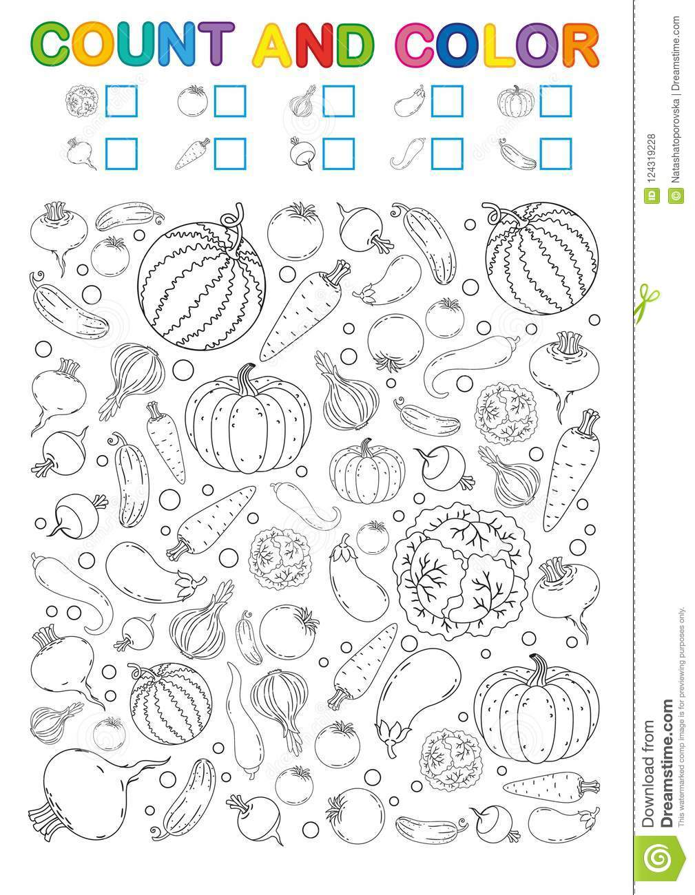 photograph regarding Printable Book identify Coloring E-book Web page. Depend And Coloration. Printable Worksheet For