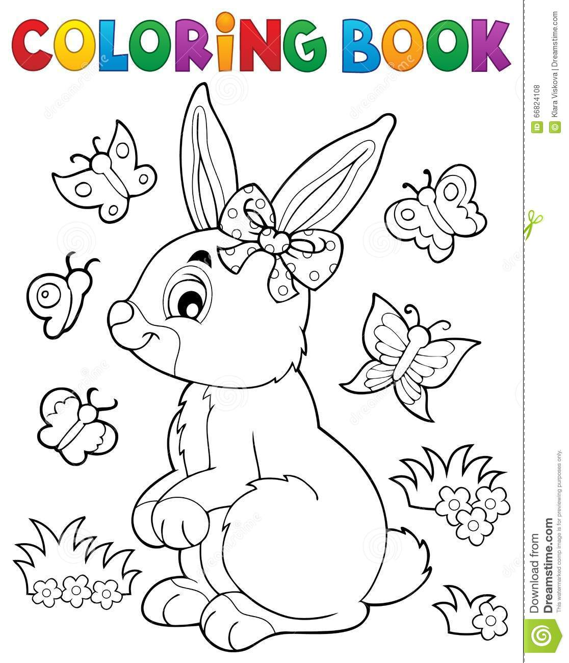 coloring book rabbit pictures : Coloring Book Rabbit Topic 2