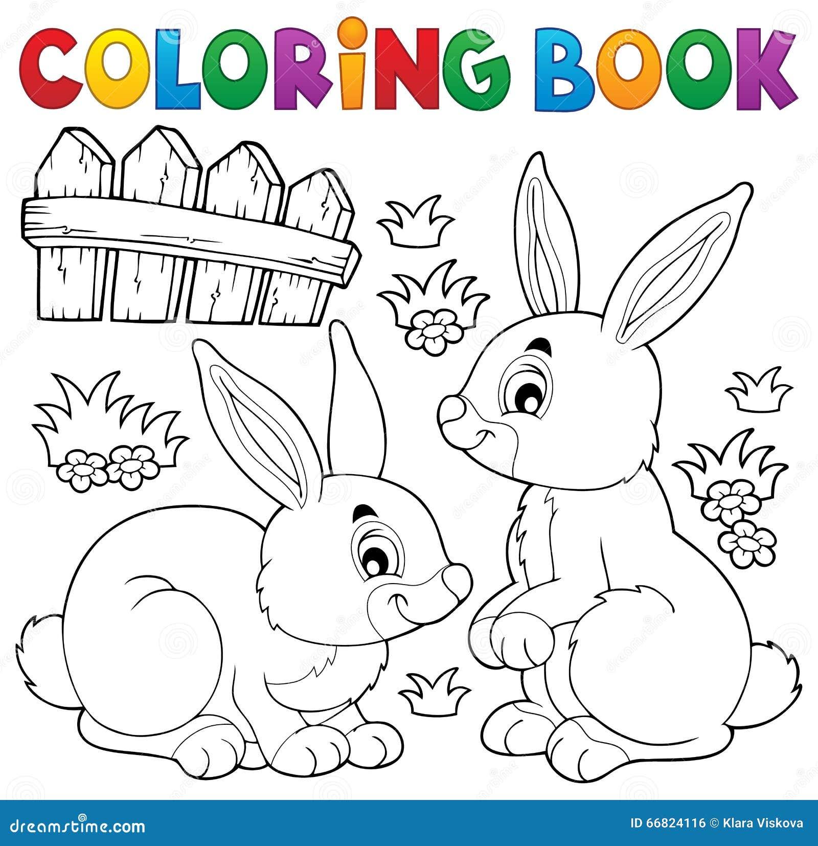 Color book rabbit - Rabbit Coloring Book Miakenasnet