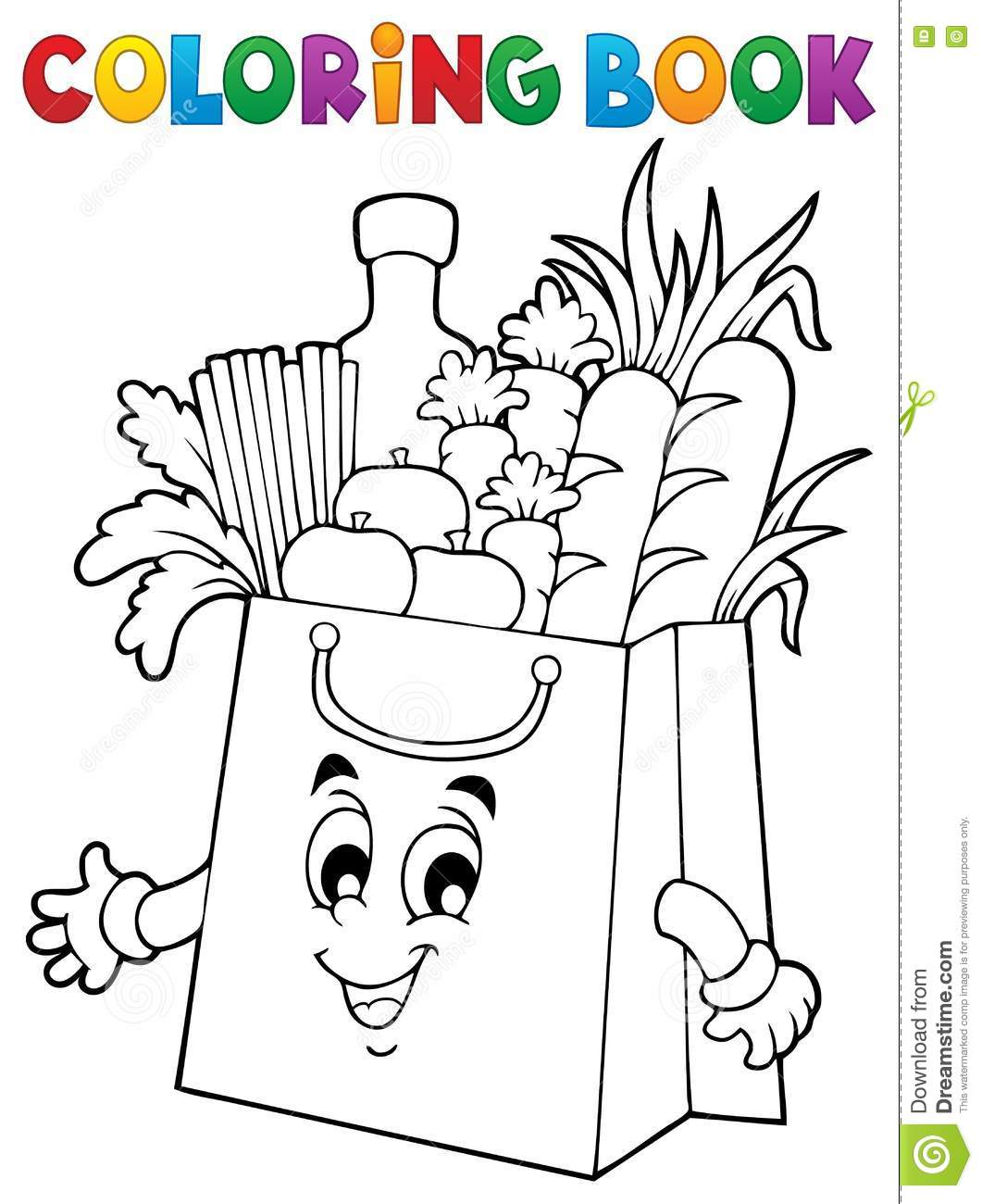 Coloring book bag - Bag Book Coloring