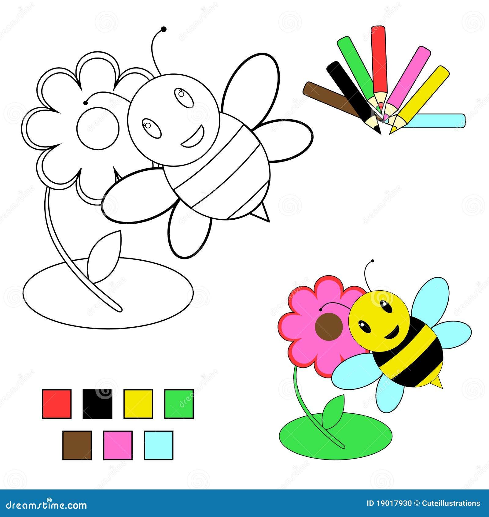 Coloring Book Sketch