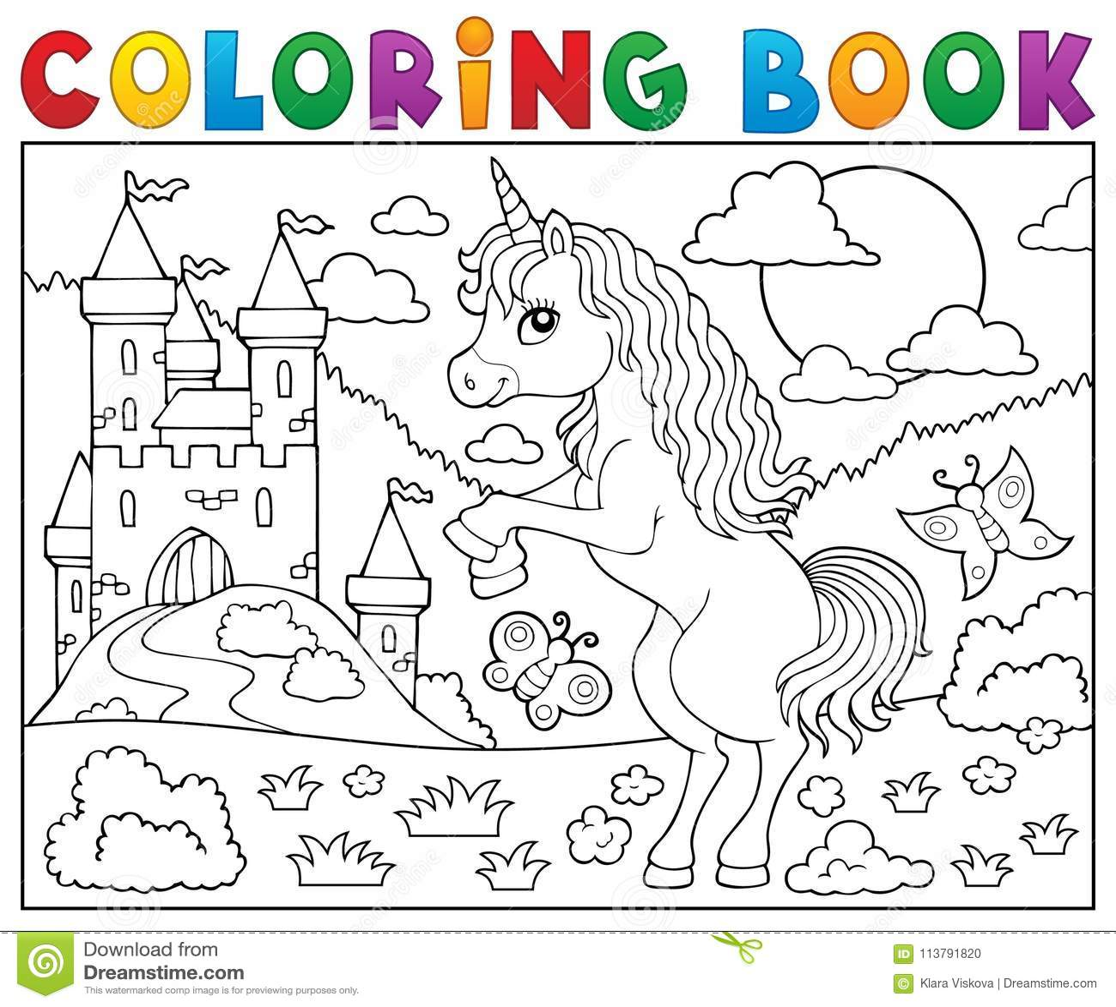 Royalty Free Vector Download Coloring Book