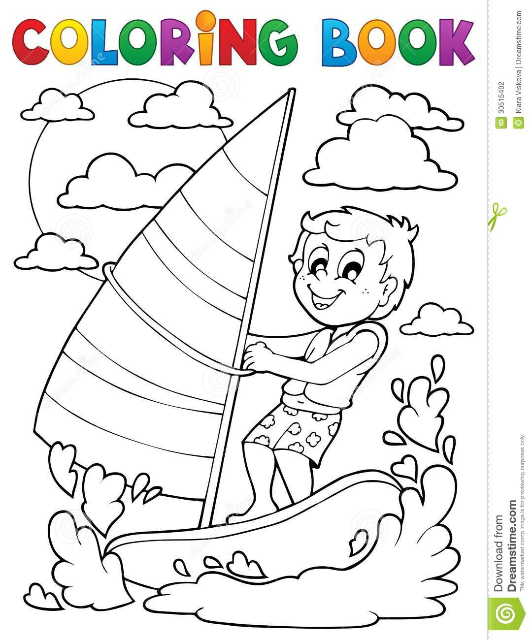 water themed coloring pages - photo#20