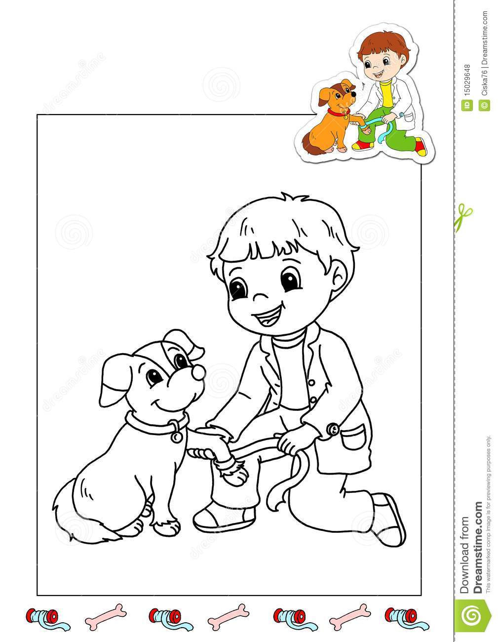 vet tools coloring pages - photo#5