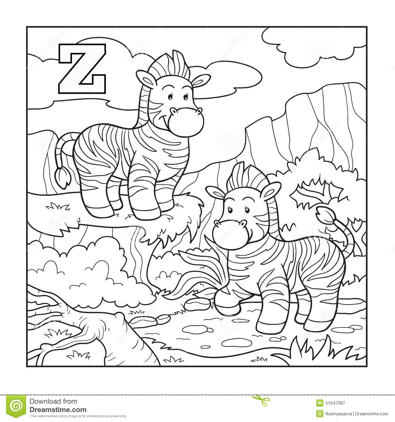Children coloring book software