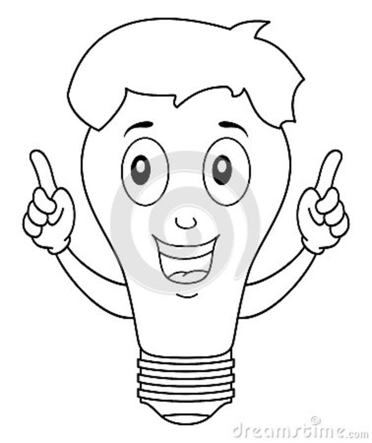 coloring brilliant star character thumbs up vector illustration