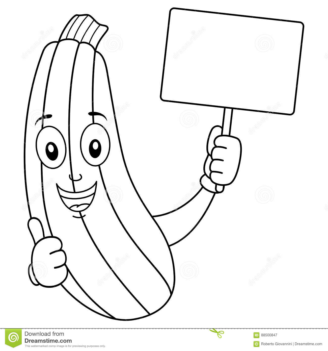 Mzucchini Coloring Coloring Pages