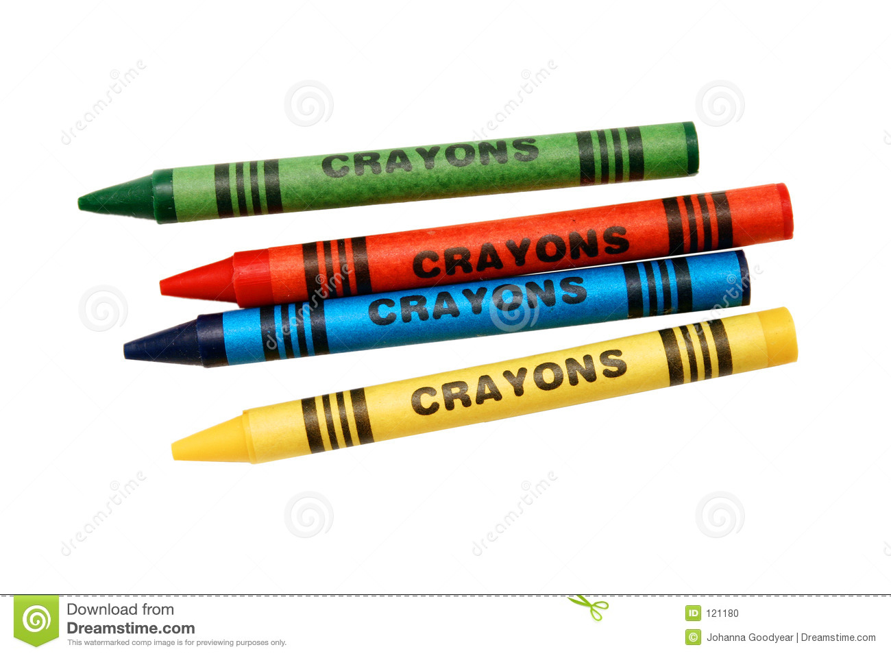 Coloring Crayons Stock Photo - Image: 121180