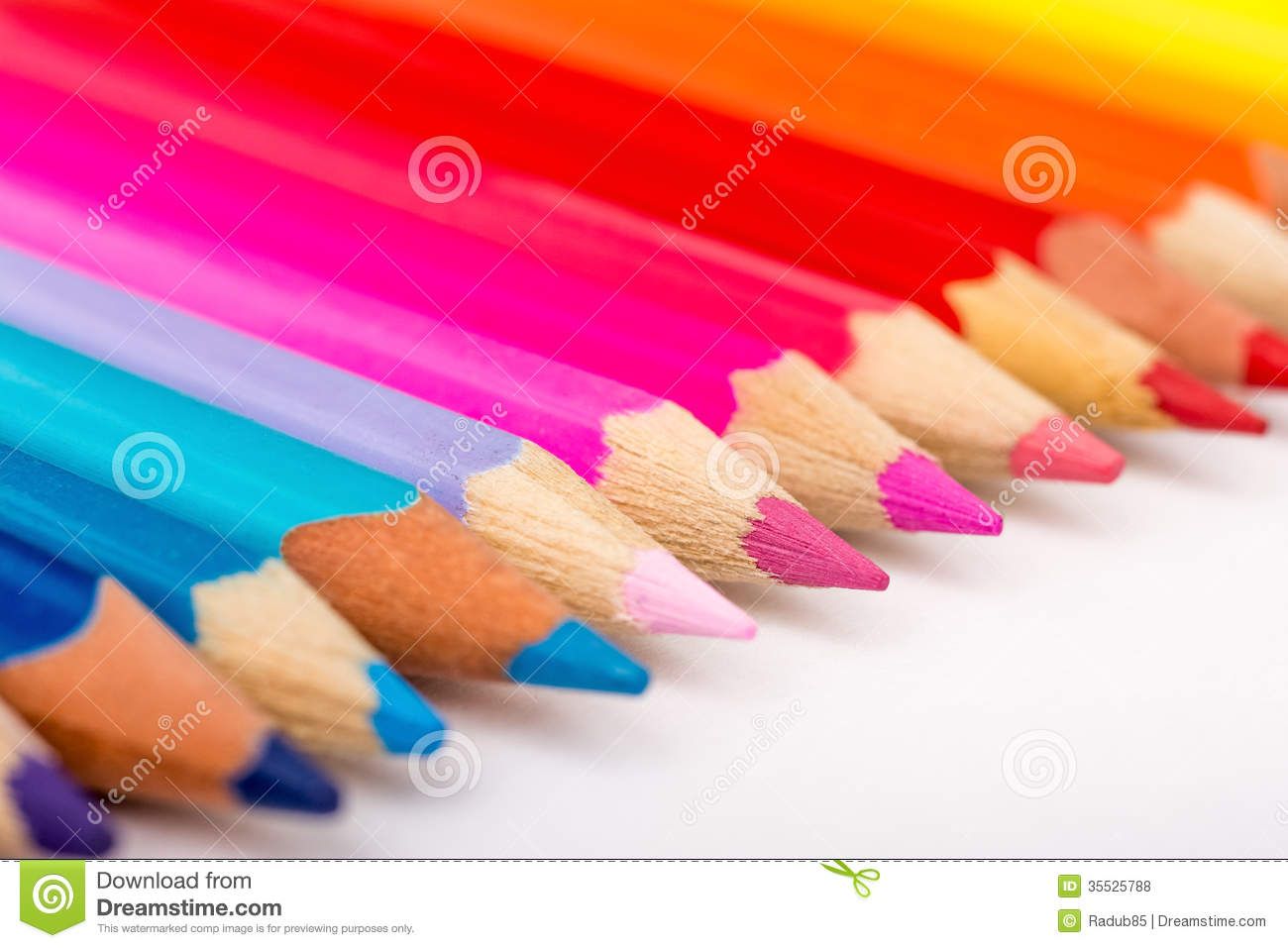 Coloring Crayons stock photo. Image of color, crayon - 35525788