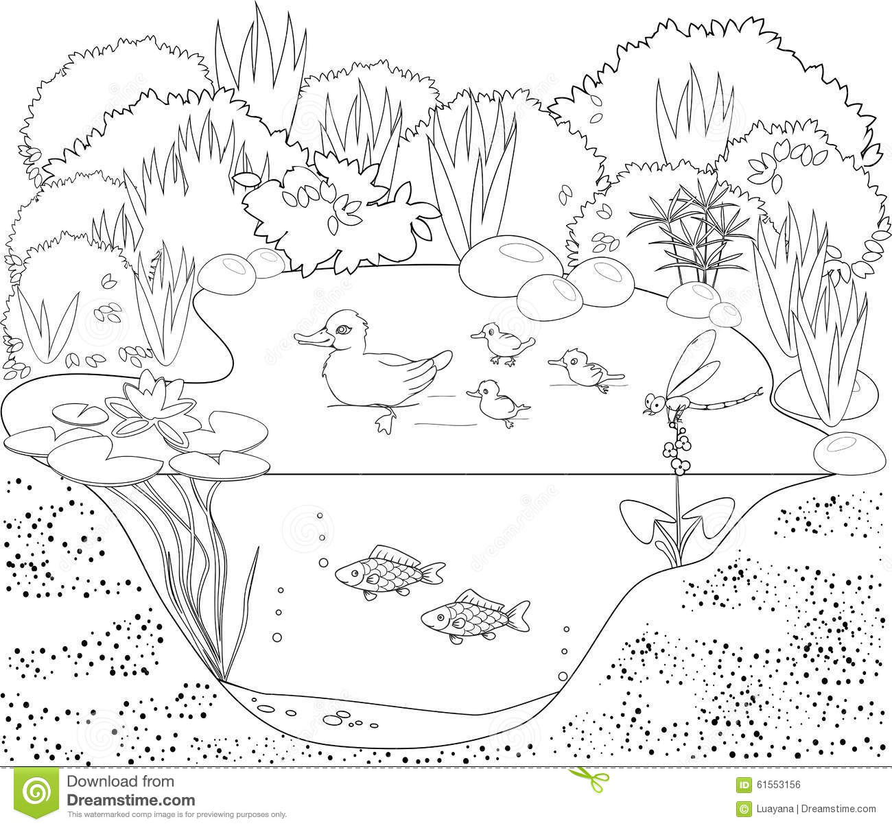 Garden Flowers Coloring Pages #2